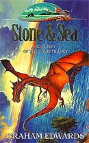 Stone & Sea cover art by Les Edwards