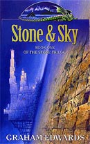 Stone & Sky cover art by Les Edwards