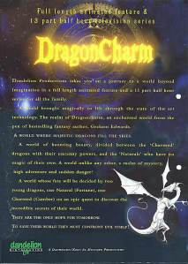 Dragoncharm movie flyer