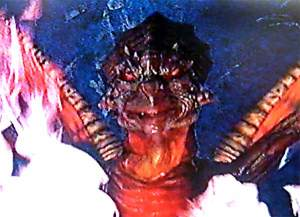 Wraith - animatronic head
