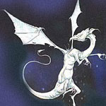 Insiss - one of the dragons designed by Dave Bonneywell for Dragoncharm