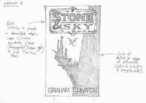 Stone & Sky Cover Design