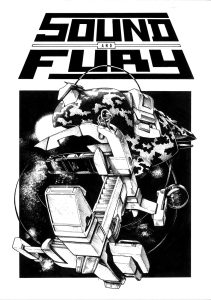 Sound and Fury Issue 1 Cover Art