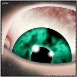 Scary Eye by Graham Edwards