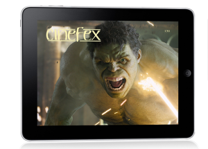 Cinefex for iPad