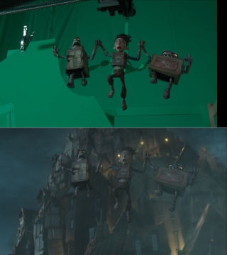 The Boxtrolls - composite shot elements