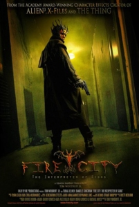 """Fire CIty: The Interpreter of Signs"" poster"