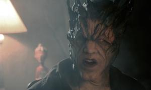 "Atum Vine (Tobias Jelinek) investigates disturbances in the demon world in ""Fire City: The Interpreter of Signs"""