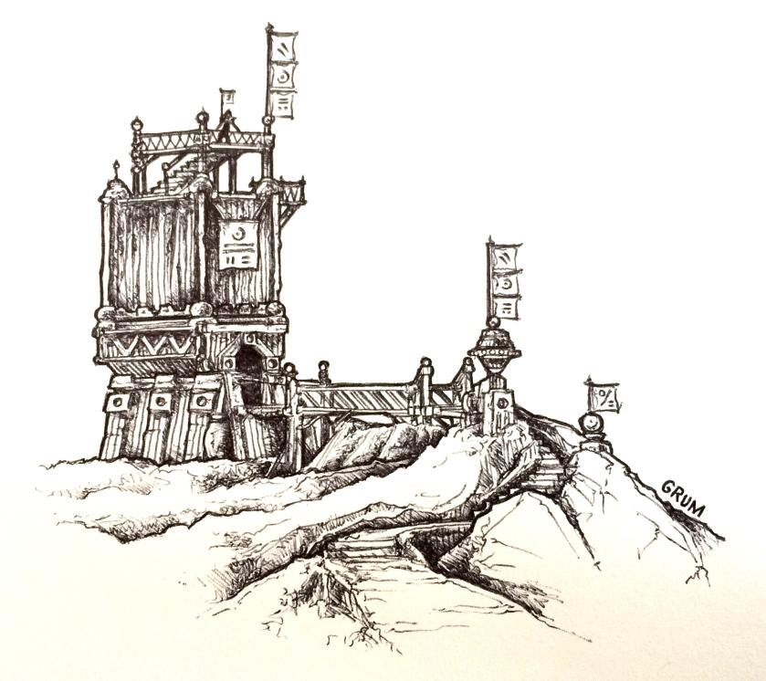 """Watchtower"" by Graham Edwards"