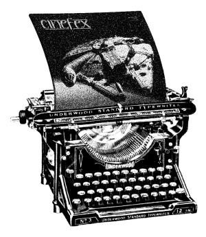 Cinefex Typewriter