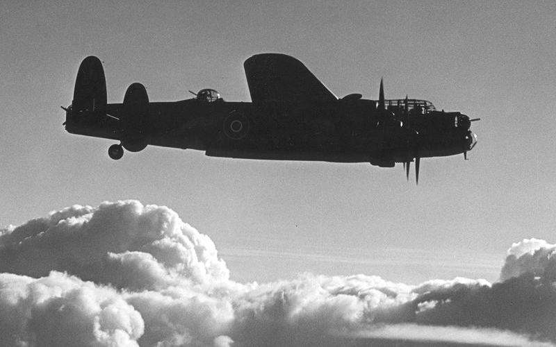 Avro Lancaster B Mk II - Expired Crown Copyright Image by Royal Air Force via www.raf.mod.uk
