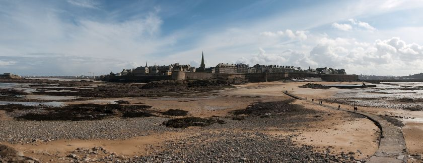 Saint-Malo photograph by Stephanemartin via Wikimedia Commons