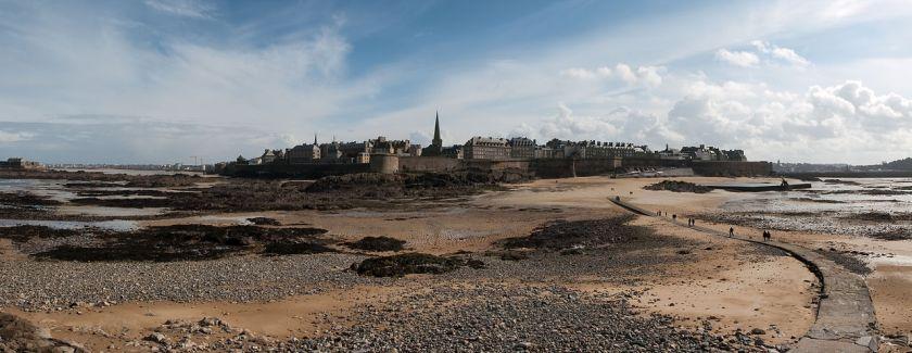 Saint-Malo photograph by Stephanemartin via Wikimedia Commons