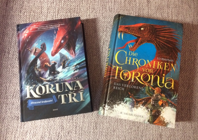 The Lost Realm - German and Czech editions