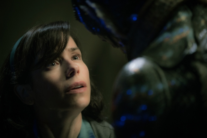 "Sally Hawkins in ""The Shape of Water."" Photo by Kerry Hayes. © 2017 Twentieth Century Fox Film Corporation All Rights Reserved."