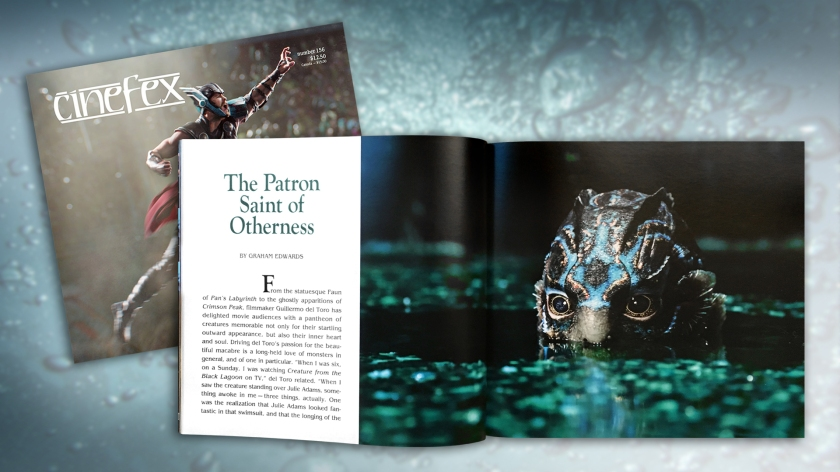 Cinefex 156 - The Shape of Water