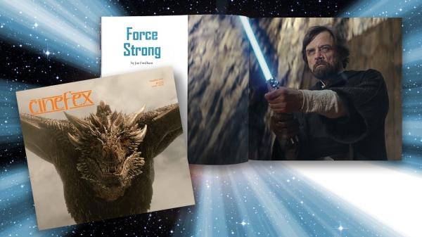 "Cinefex 157 covers ""Star Wars: The Last Jedi"""