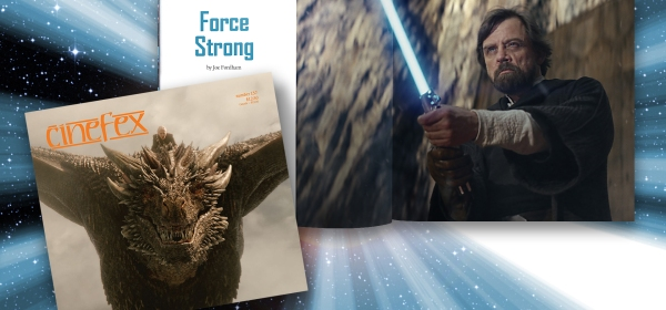 "Cinefex 157 covers ""Star Wars: The Last Jedi"""