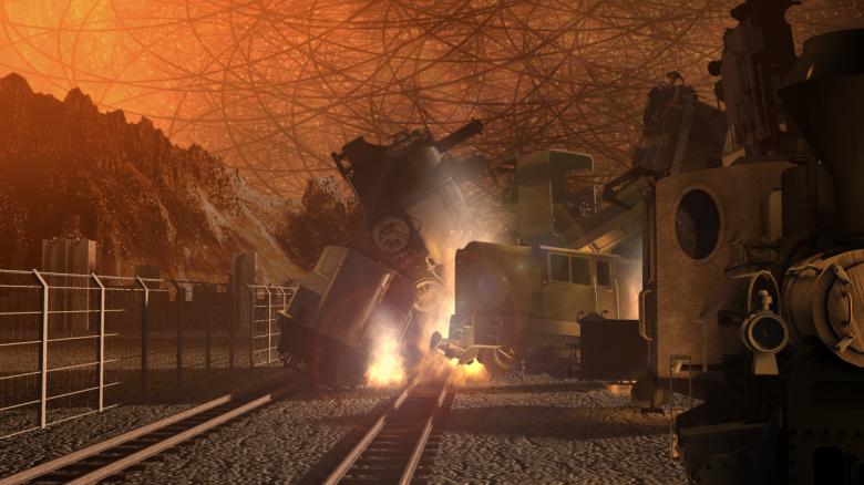 Big Tusk Railhead - A String City Snapshot