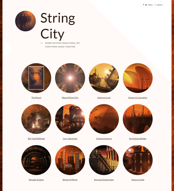 String City website