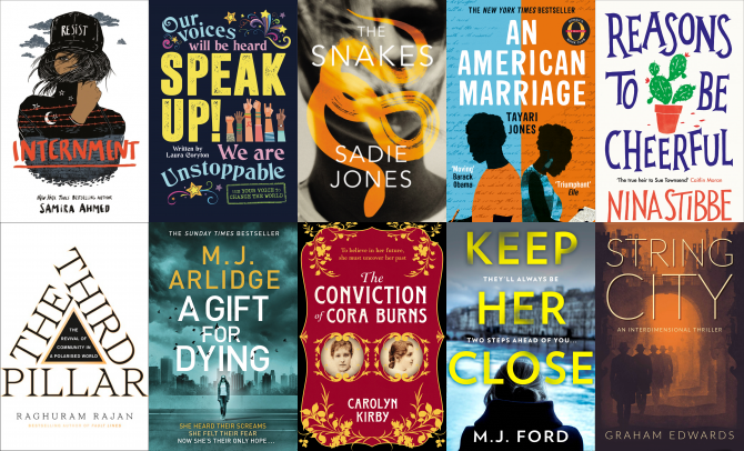 NetGalley Top Ten March 2019