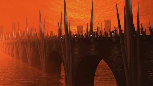 Scrimshaw Bridge - A String City Snapshot
