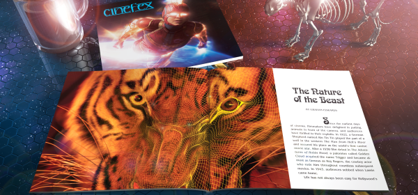 Cinefex 164 - The Nature of the Beast - a history of digital animals in the movies