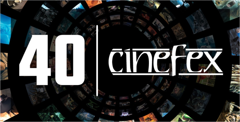 Cinefex 40th Anniversary