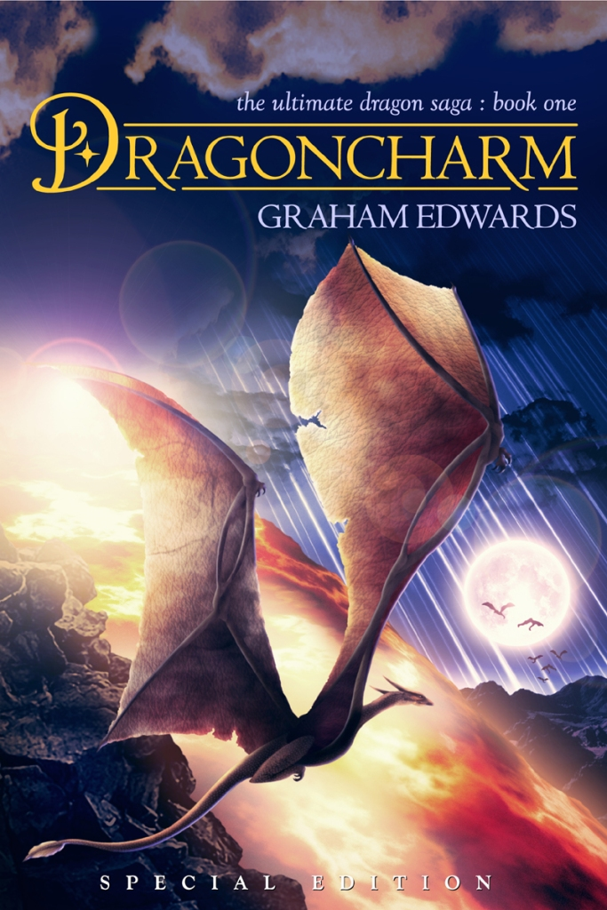Dragoncharm cover art by Graham Edwards