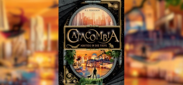 Catacombia by Graham Edwards, writing as R.L. Ferguson.