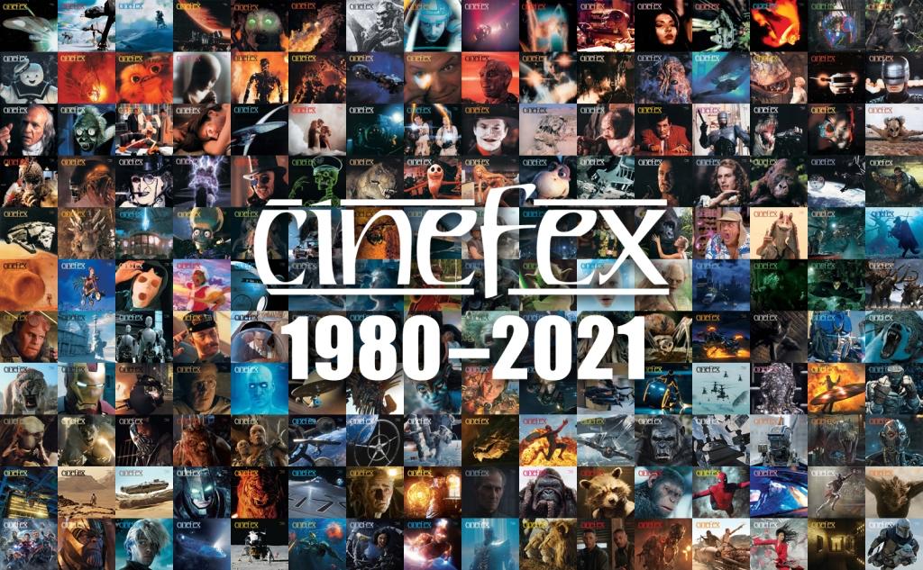 Cinefex 1980-2021