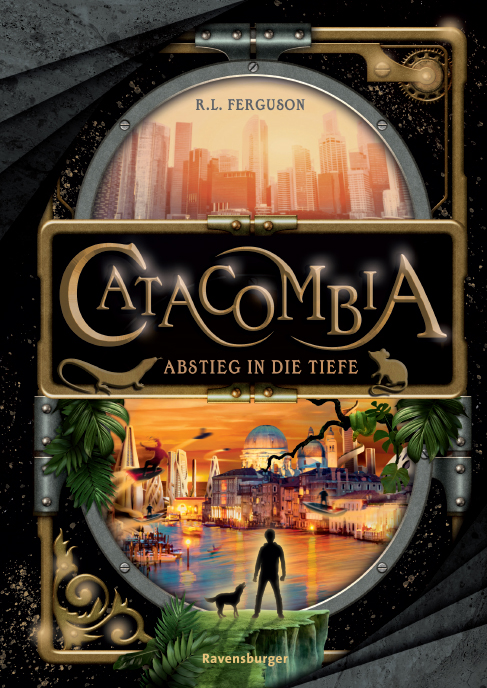 Catacombia by Graham Edwards (writing as R.L. Ferguson)