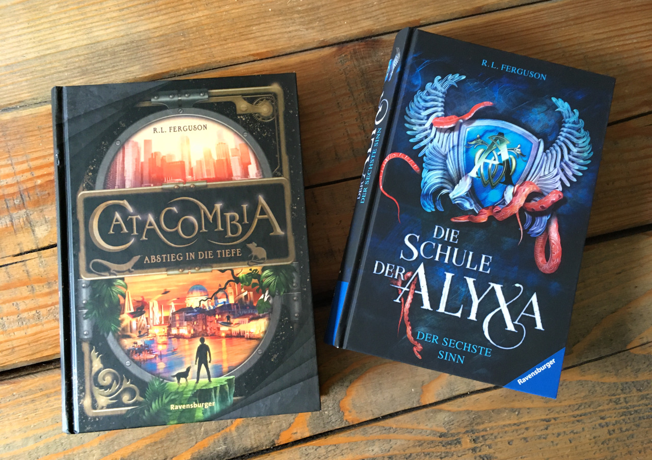 Catacombia and School of Alyxa by Graham Edwards (writing as R.L. Ferguson)